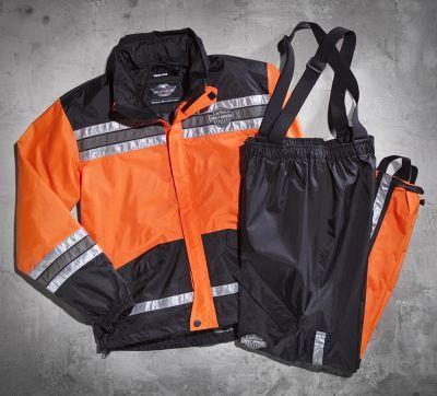 Men's Hi-Vis Rain Suit #HDofFrederick