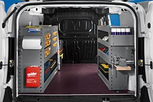 Modello di Officina Mobile Store Van per Fiat Doblò Cargo