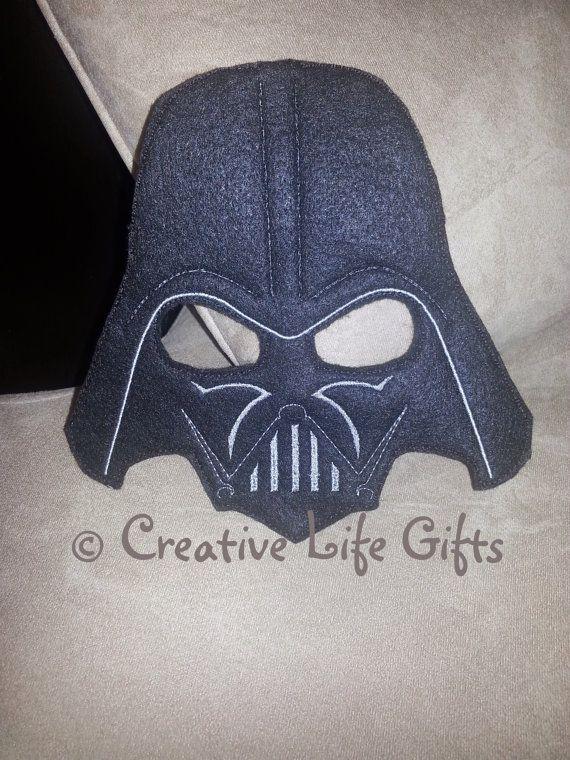 Darth Vader inspiriert gefühlt Maske von CreativeLifeGifts auf Etsy