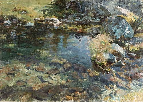 John Singer Sargent: Alpine Pool (50.130.15) | Heilbrunn Timeline of Art History | The Metropolitan Museum of Art