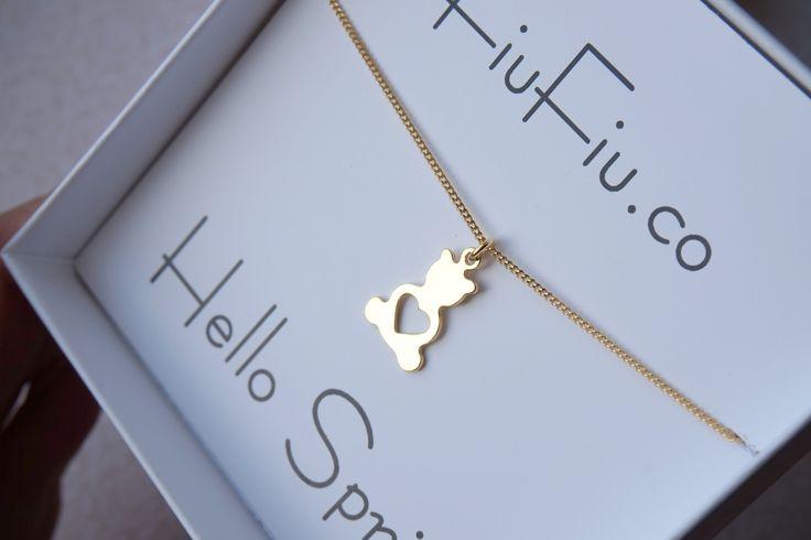 pl.dawanda.com/shop/FiuFiu-co   #jewellery #fiufiu #srebro #srebro925 #miś #serce #bear #miśzsercem #