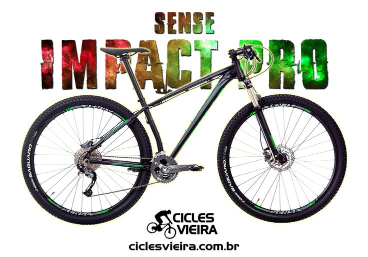 Sense Impact Pro - Vencedora da premiação Guidão de Ouro 2017 de melhor bike nacional. ***** www.ciclesvieira.com.br
