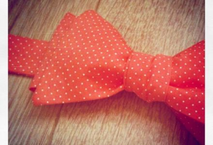 L'appel du Corail - Get your Noeud Papillon Made in France.