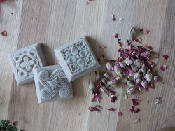 """Arabian night"" is a precious soap: its preziosity is given by the Rhassoul clay, famous to be used in Moroccon for Hammam and body masks. In..."