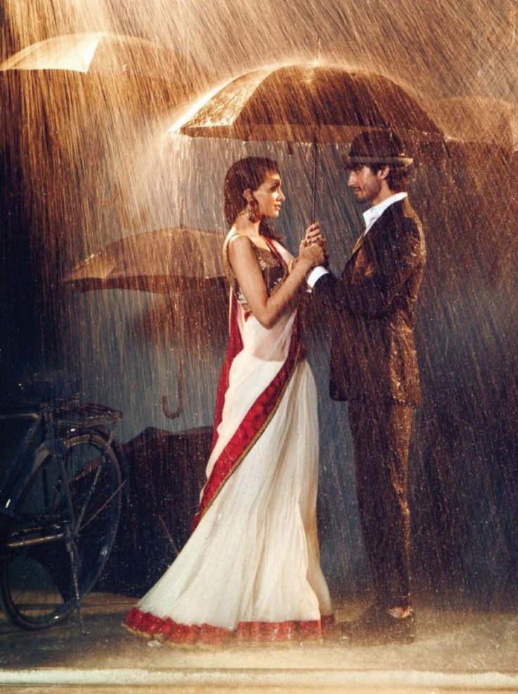 When it rains on your weddingday. raindroops on the bride - gives a happy marriage.
