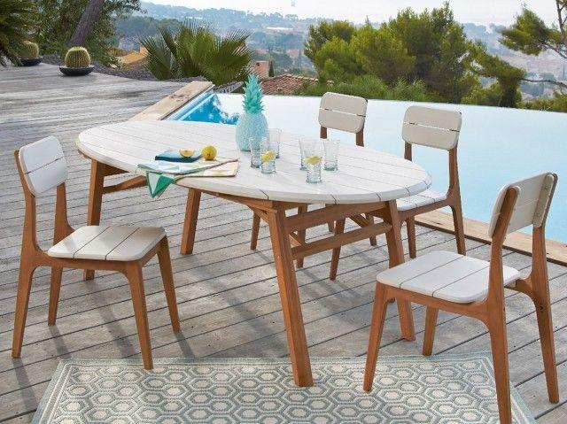 Die besten 25+ Gartentisch oval Ideen auf Pinterest Gartentisch - gartenmobel aus stein selber bauen