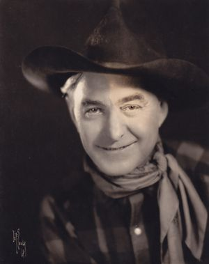 Harry Carey Sr., silent to talkies film actor, father of Harry Carey, Jr (Straight Shooters, Cheyenne Harry series) 1878-1947