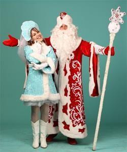 Где взять напрокат костюм деда мороза и снегурочки