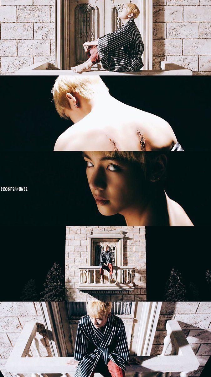 BTS Blood Sweat & Tears MV V WALLPAPER