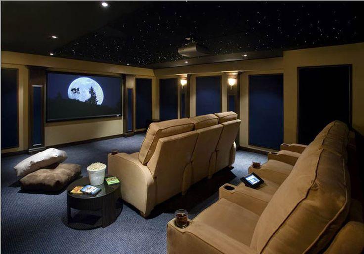 Mini sala de cine casera buscar con google ideas para - Sala cinema in casa ...