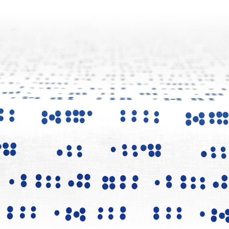 Image of Tablecloth - Blue Dots