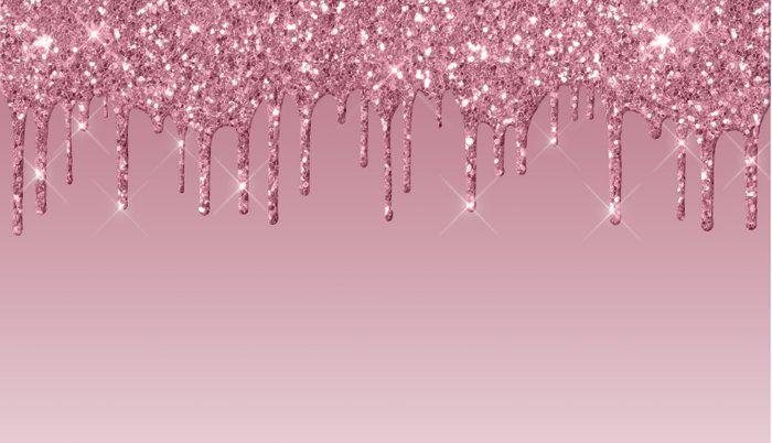Pink Dripping Glitter Pillow Sham Pink Glitter Background Pink Glitter Wallpaper Black Glitter Wallpapers