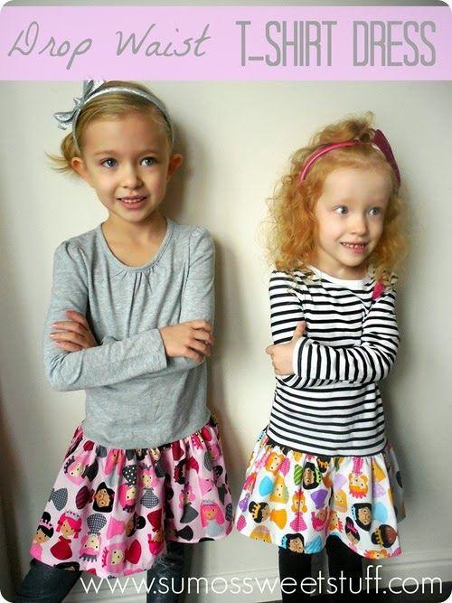 .:Tutorial Tuesday–Drop Waist T-Shirt Dress:. - .:Sumos Sweet Stuff:.