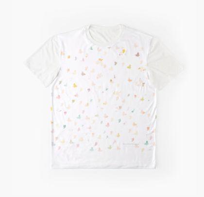 Little Butterflies . Panel T-shirt by Yannik Hay Photography