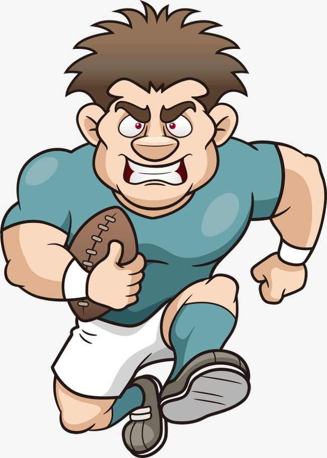 Vector Rugby Player Football Athlete Cartoon Players Png Transparent Clipart Image And Psd File For Free Download Rugby Players Rugby Rugby Boys