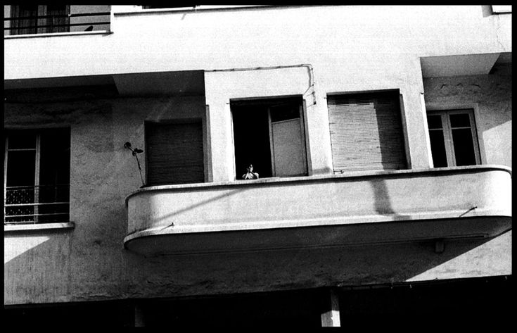 HENRI HADIDA: la fille du balcon, Rabat 1975