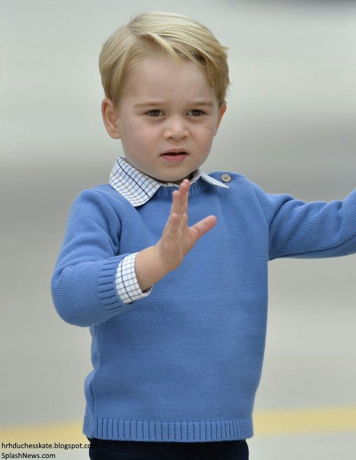 Prince George arrive in canada ahead of his 2nd overseas visit and 1st visit to canada with parents and sister princess Charlotte