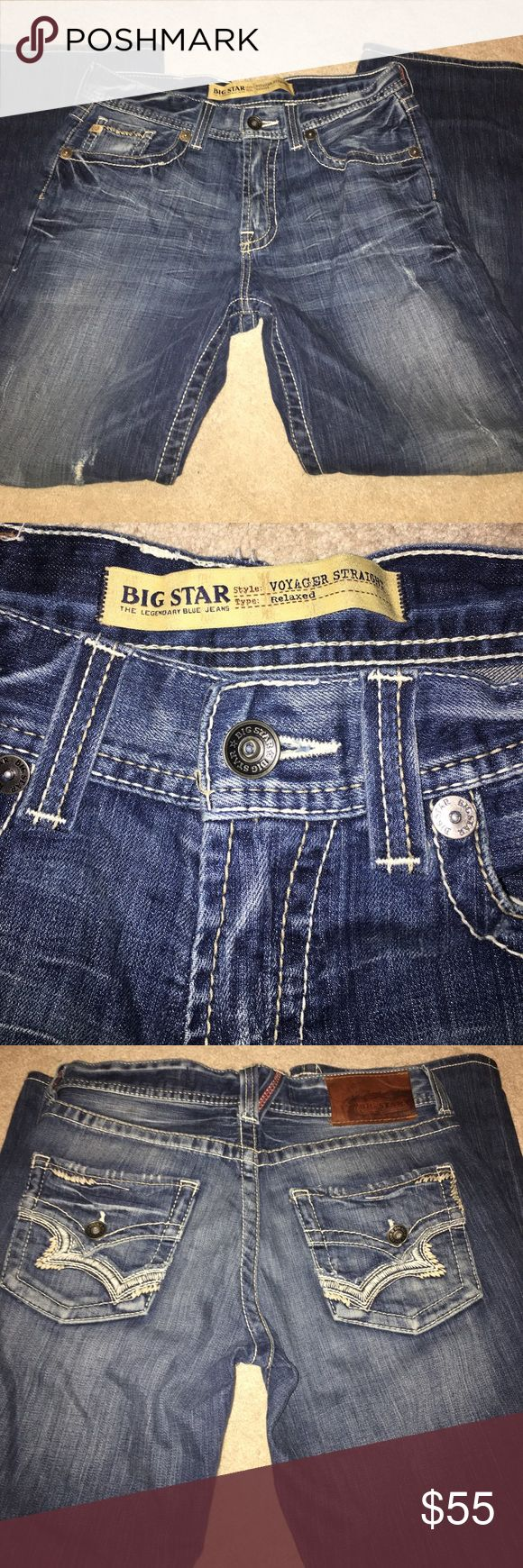 Big Star Voyager Straight Relaxed Jeans 31 Long Big Star Voyager Straight Relaxed Bootcut Jeans 31 Long. Brand new without tags. Big Star Jeans Bootcut