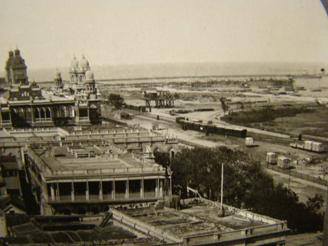 Madras City & Harbor, 1910's