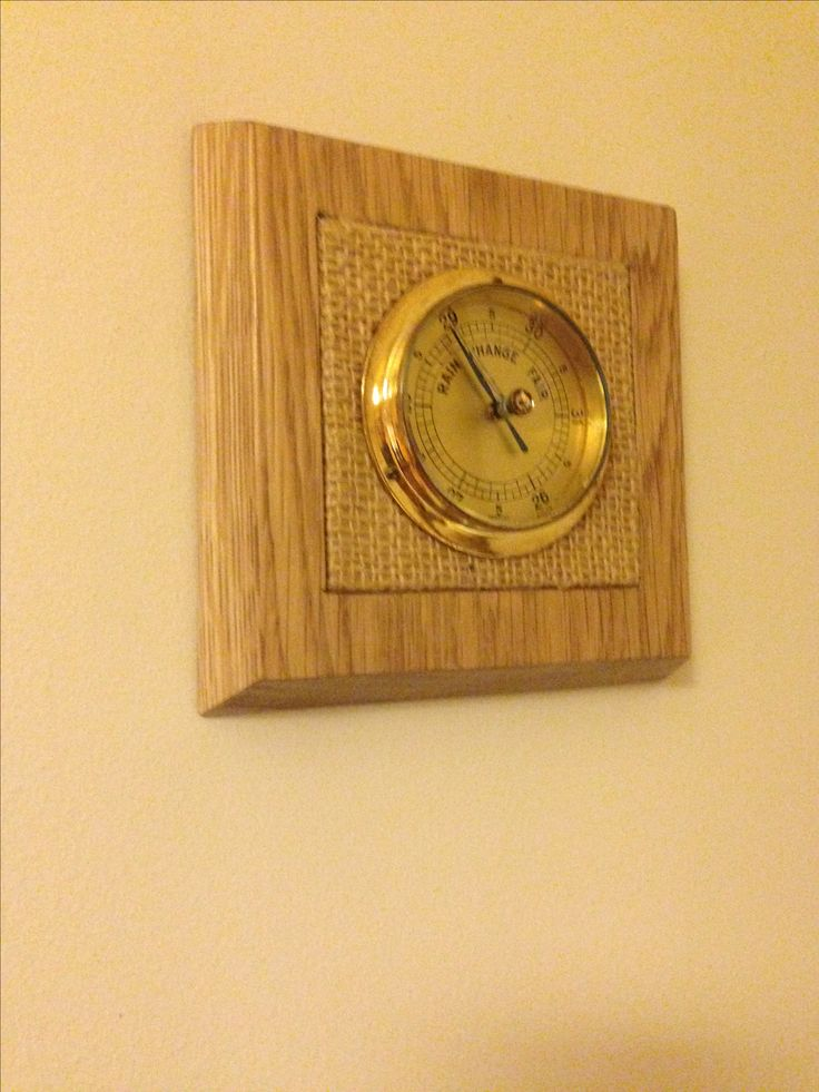 Upcycled Barometer