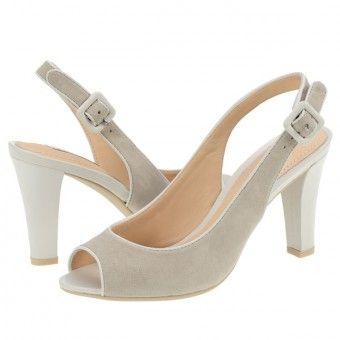 Sandale casual dama Geox gri