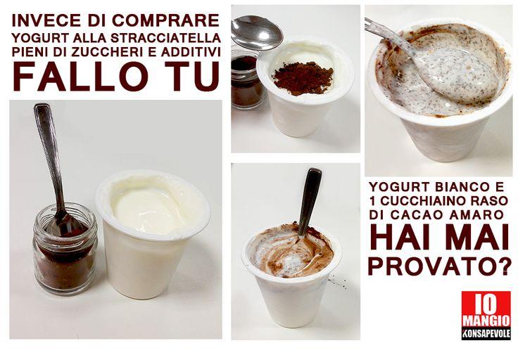 Lo yogurt-dessert preparalo a casa in questo modo ;)