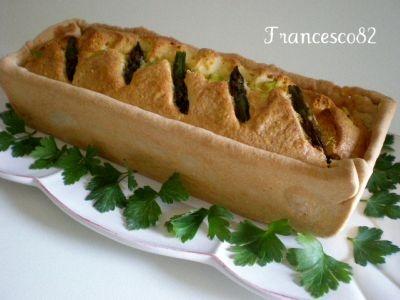 Plumcake di asparagi in crosta croccante