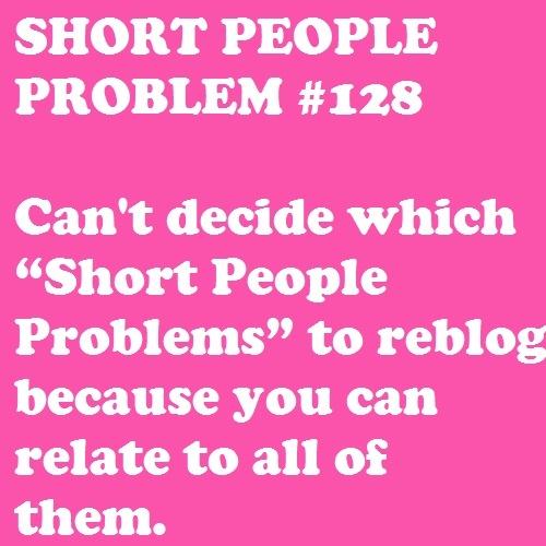 Short People Problem #128