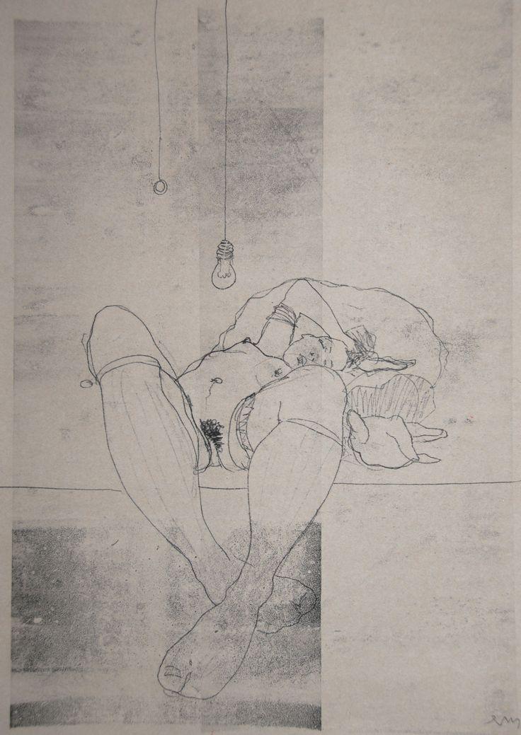 NUDE No. 3274 60 x 40 cm