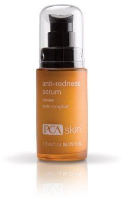 PCA pHaze 42 Anti-Redness Serum-1 oz by PCA. $45.95. Cooling Down the Red hot SunburnsPCA Anti-Redness Serum helps sensitive skin retain more moisture content and helps decrease the harshness of the sunburns. Your skin loses its moisture throughout the course of the day. This is called trans-epidermal water loss (TEWL). This makes your skin dry over a period of time. The use of this serum may help decrease TEWL by as much as 14% over a 4-week period. This makes y...