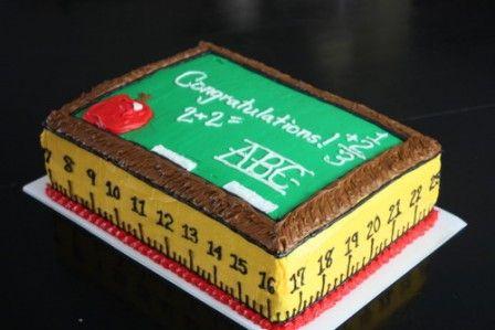 graduation cake for preschool ideas 2