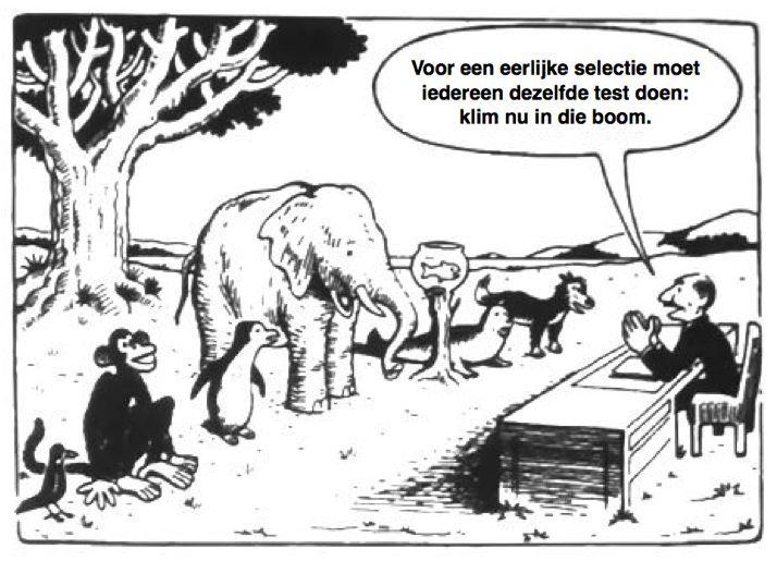 testen-in-onderwijs-cartoon-met-dieren1