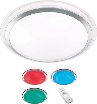 Reality RealityTrio LED-Deckenleuchte RL133, Hängeleuchte Effektleuchte, Farbwechsel RGB 13W EEK A+ Jetzt bestellen unter: https://moebel.ladendirekt.de/lampen/deckenleuchten/deckenlampen/?uid=a59a980c-c8c5-5368-bbef-8d33b24e993c&utm_source=pinterest&utm_medium=pin&utm_campaign=boards #deckenleuchten #heim #lampen #deckenlampen