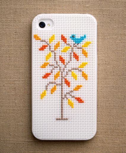Cross-Stitch Your Own iPhone Case   Brit + Co.