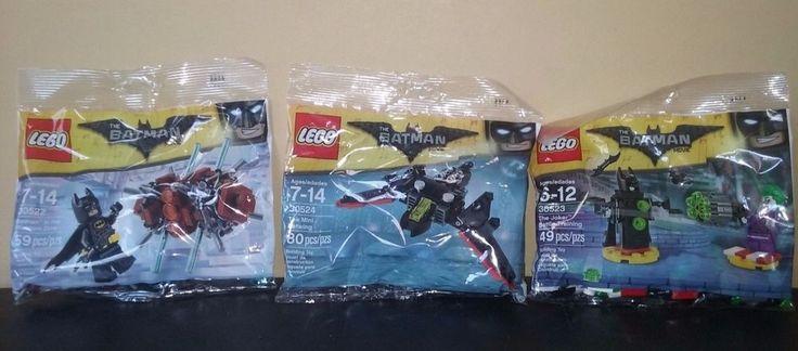 LEGO The Batman Movie Polybag 30522 30523 30524 Phantom Zone Mini Batwing Joker