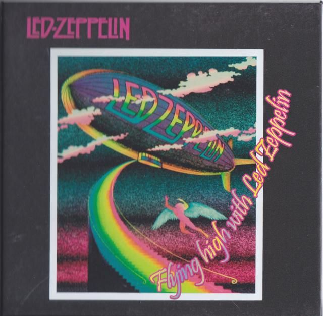 Led Zeppelin - Flying High With Led Zeppelin (1CDR+1DVD) - Live at International Pop Festival, Dallas, Tx, 31 August, 1969