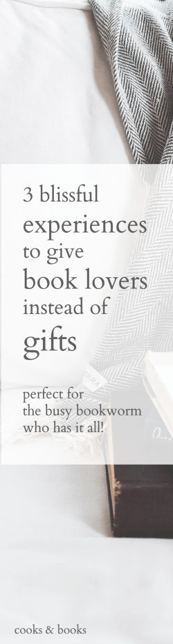 Show you really understand the book lover in your life with these 3 amazing experience gifts! Wow them with a gift that's so much more creative and exciting than just buying them a book!