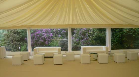 top hat marquees wedding seating