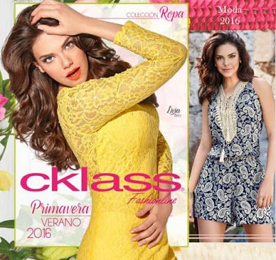 Vestidos, blusas de moda y palazzos de la marca cklass. Temporada primavera verano 2016. #ropamujer #modamujer