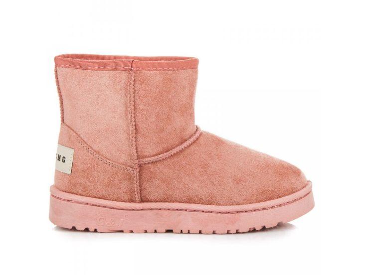 Dámske ružové snehule Lisa FC226P