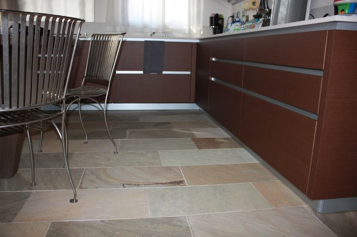 sand stone floor