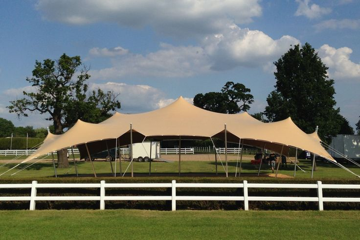 Stretch tent from Freestretch.co.uk at the Royal County of Berkshire Polo Club
