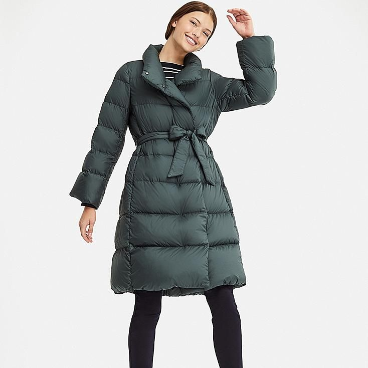 Women lightweight down stand collar coat | Winter coats