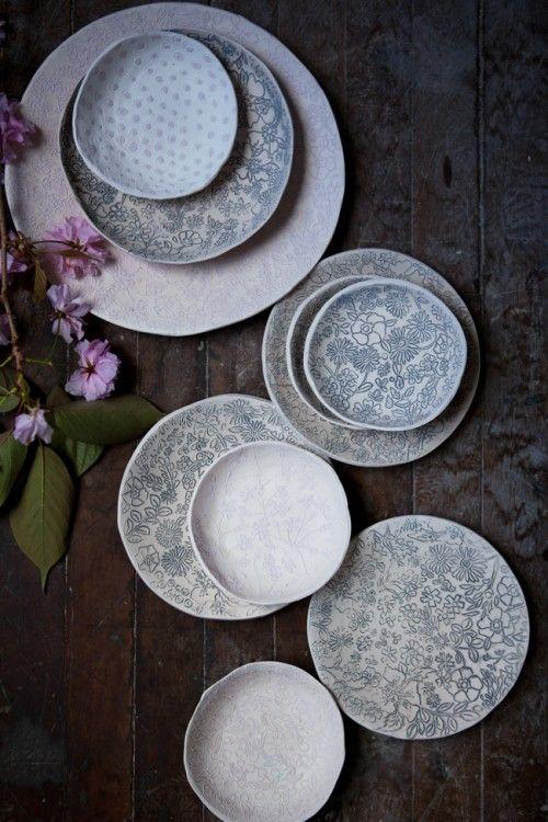 Dorotea Ceramics on Design*Sponge, photographed by Aran Goyoaga #ceramics #tabletop