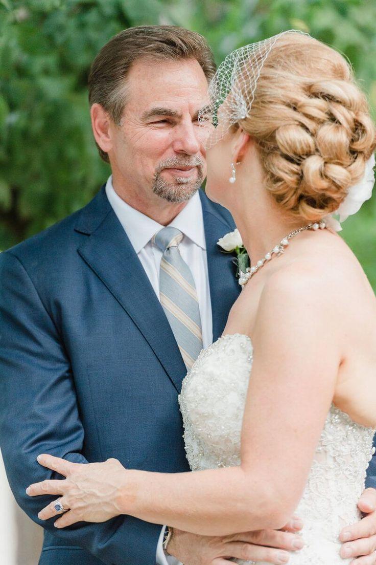 Charlotte Backyard Garden Wedding - bridal hair