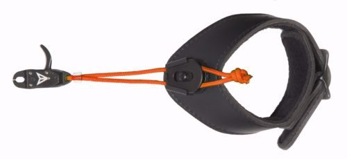 Black Horse Adjustable Bow Archery Release for Mathews & Mission - Orange Stem