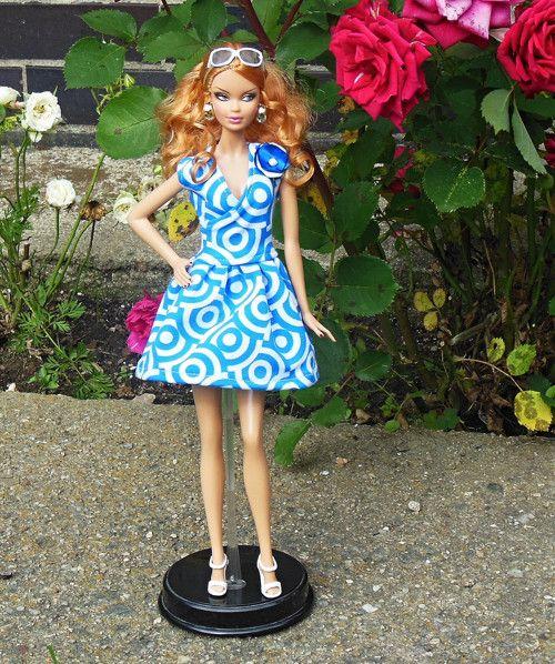 Letní šaty pro Barbie