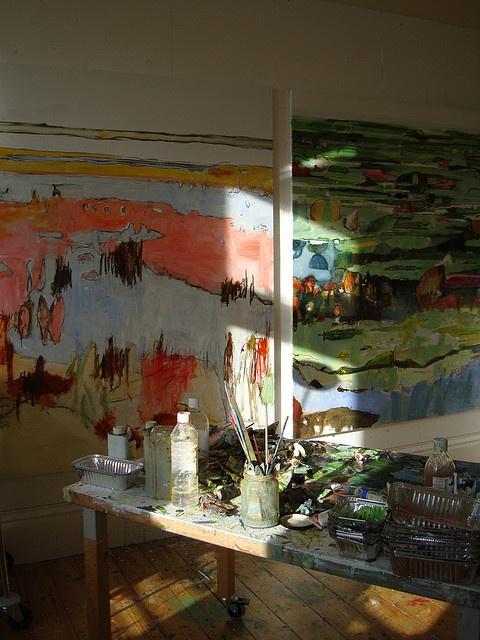 Works in progress by Caroline Havers,