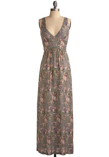 maxi dress...