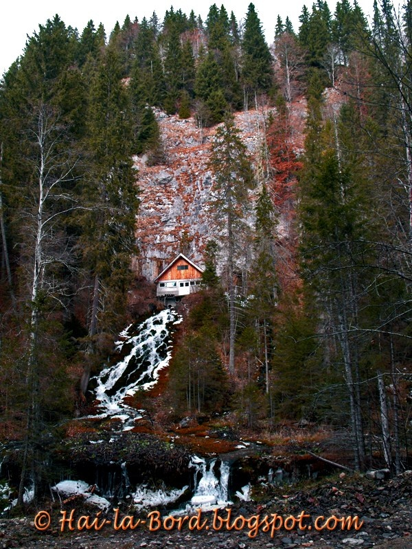 7 Springs Waterfall, Bucegi Mountains - ROMANIA.